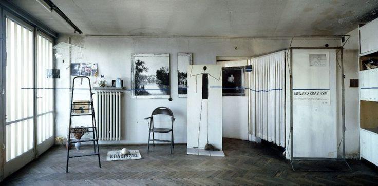 Studio Edwarda Krasińskiego, fot. Fundacja Galerii Foksal w Warszawie