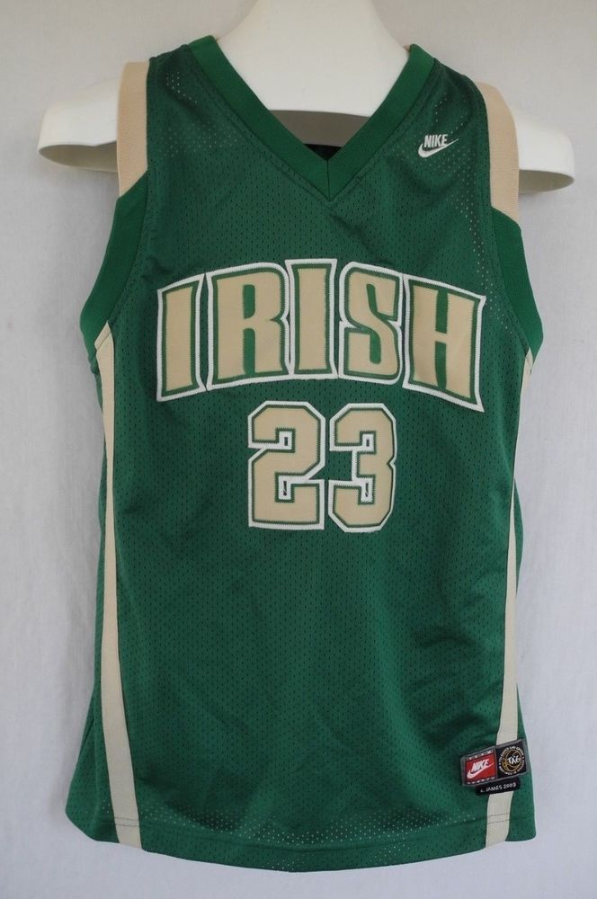 sale retailer 23c45 100ef Lebron James Nike 2003 Throwback Jersey St Vincent St Mary ...