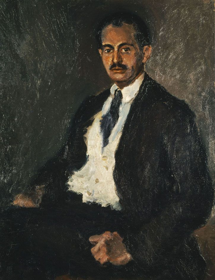 Self-Portrait, 1917  George Bouzianis