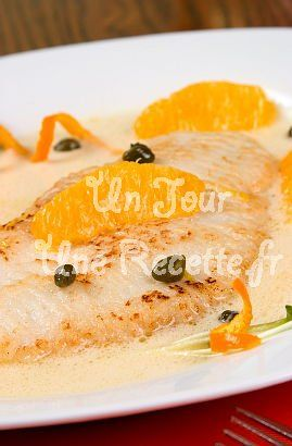 Photo de la recette Poisson blanc sauce à l'orange
