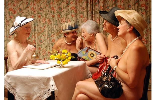 The WI (the original calendar girls!) raised over £1million with their debut charity calendar :)