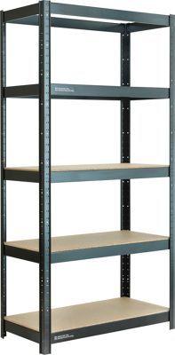 1000 ideas about heavy duty shelving on pinterest metal. Black Bedroom Furniture Sets. Home Design Ideas