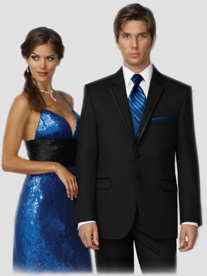 Blue Prom Night Matching Attire