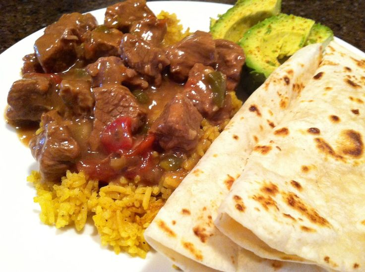 """Carne Guisada - got this off another recipe site, but """"tooled"""" it a bit for makin' in a crock pot. JUST as good as Momma's!"""