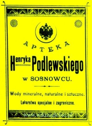 Historia aptekarstwa w Zagłębiu Dąbrowskim – WikiZagłębie