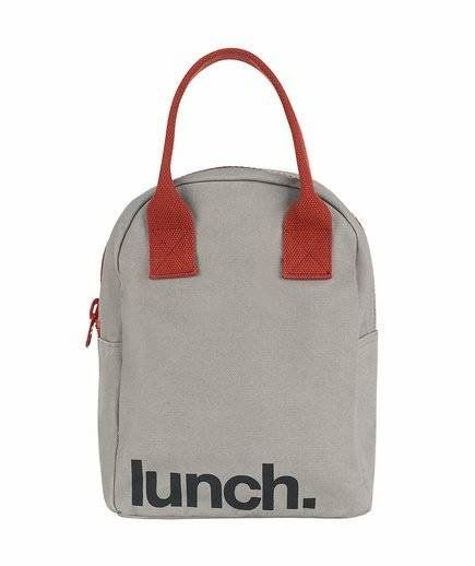 6cf71ccd3 Fluf Zipper Lunch Bag | You'll never have to guess what's stored inside this