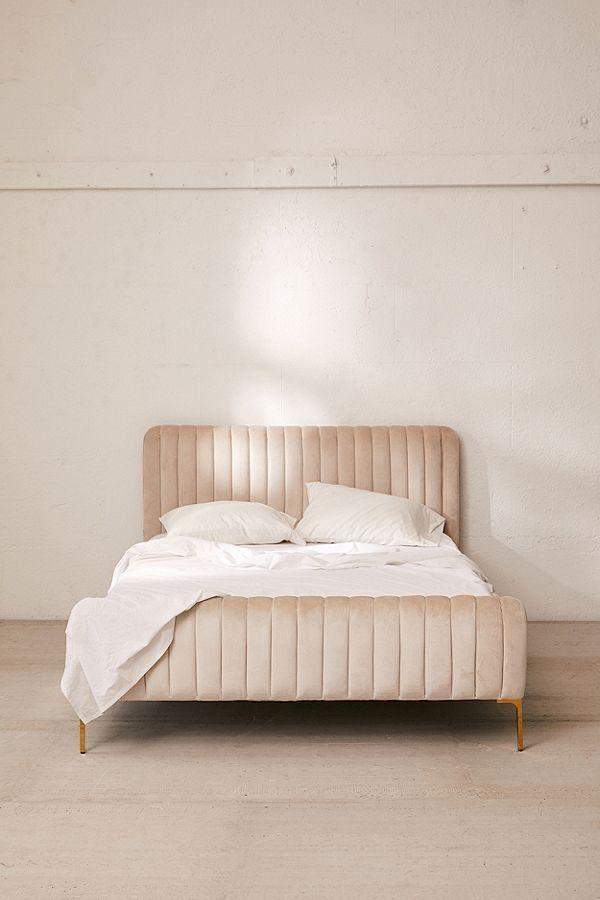 Marcella Velvet Bed In 2019 Velvet Bed Frame Velvet Bed Grey Velvet Bed
