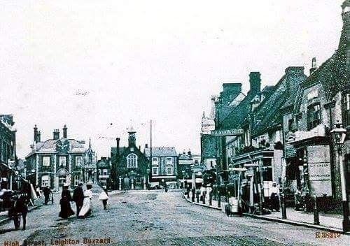 Leighton High Street over 100 years ago