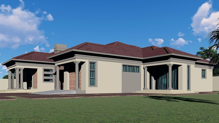 House Plans for Botswana and South Africa, Block 8 ...