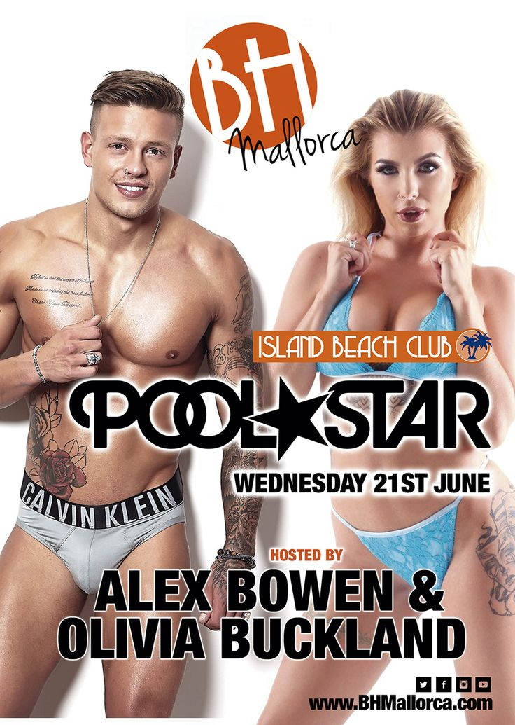 Alex Bowen and Olivia Buckland will be at the BH Mallorca on Wednesday 21st June...