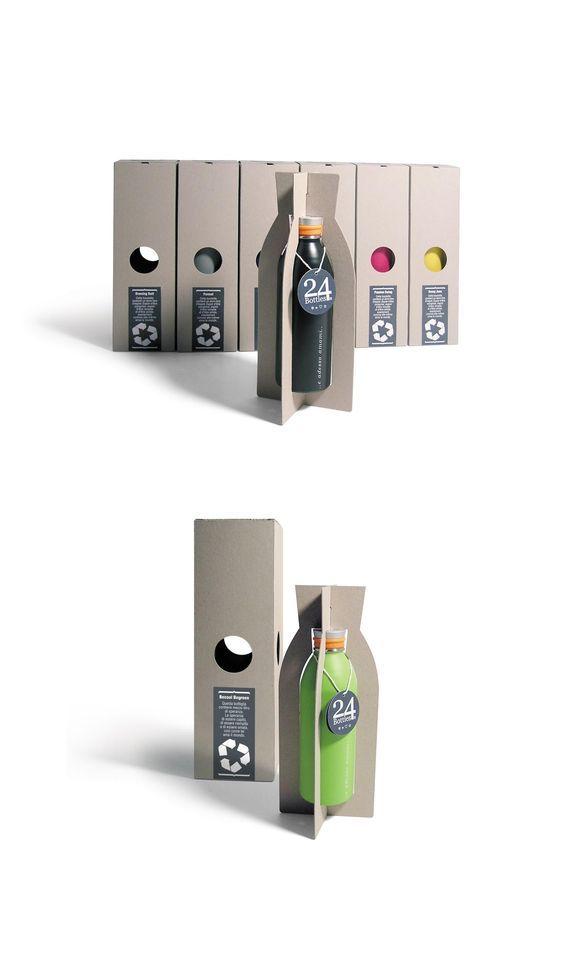 24bottles packaging #packaging #unique #creative #design #branding #marketing #JablonskiMarketing #inspiration