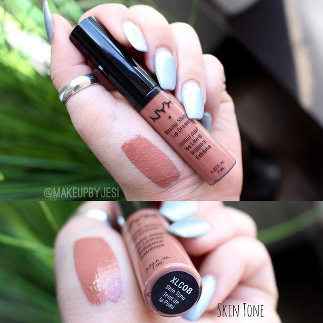NYX Cosmetics Xtreme Shine Lip Cream in Skin Tone ✨