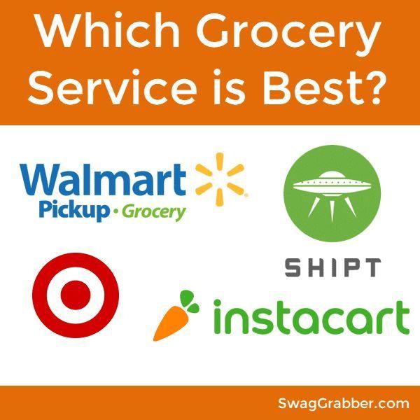 Which Grocery Service is Best? Shipt VS InstaCart VS Walmart