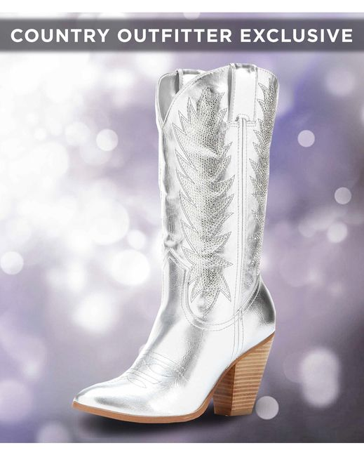 miranda lambert's boots - Women's Cowboy Bling Boot - Silver can't wait to add to my collection!...already ordered these babies!