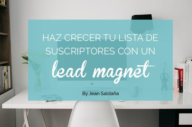 Haz crecer tu lista de suscriptores y aumenta tu tráfico con un lead magnet