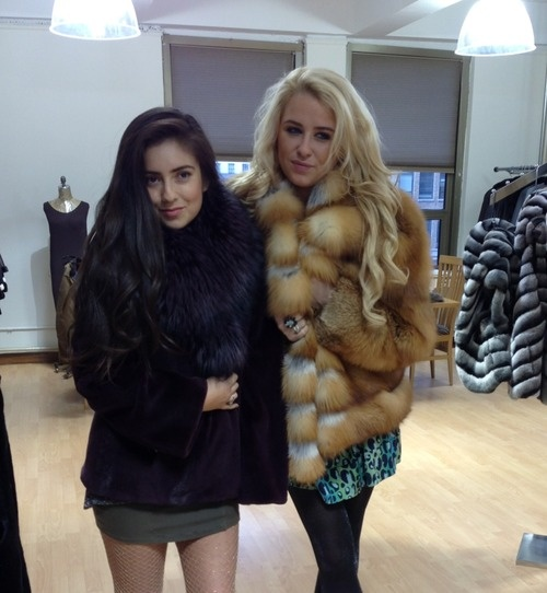 "Hey Hauties,  It is a cold cold world out there, do not miss an opportunity to rock your favorite fur. Today was a visit to long time family friends G & A Furrier. This begins our move to the city that never sleeps from the city of angels.  xxx eskimo kisses          ""make them wonder why you are smiling."""