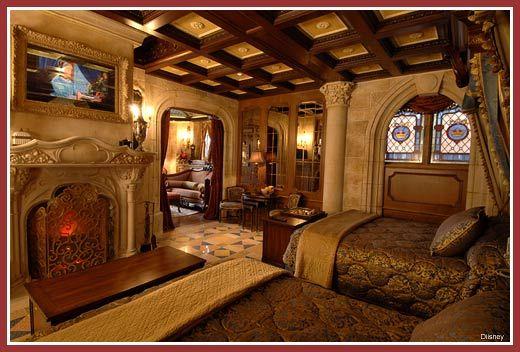 Cinderella's Castle Suite at Walt Disney World. That seems nice. #disney #travelwithkids