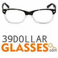 39DollarGlasses offers cheap, durable prescription eyeglasses for men, women and kids.  Imagine saving even more on one of their best eyeglasses deals on the net. Starting at $39 for a stylish pair of glasses discounted even further with the use of Eyeglasses-Online.info  coupons. Founded by eye doctors, 39DollarGlasses offers an affordable option through high quality lenses and frames at a fraction of the cost, a direct result of the site's high volume in sales.