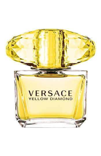 Versace 'Yellow Diamond' Eau de Toilette |  Introducing Versace Yellow Diamond, a rare fragrance inspired by a rare jewel. A one-of-a-kind fragrance experience of luxury, energy and warmth.  Top notes: bergamot, lemon, neroli and pear sorbet. Middle notes: freesia, mimosa, orange blossom and water lily. Base notes: guaiac wood, amber and musk.            nordstrom.com
