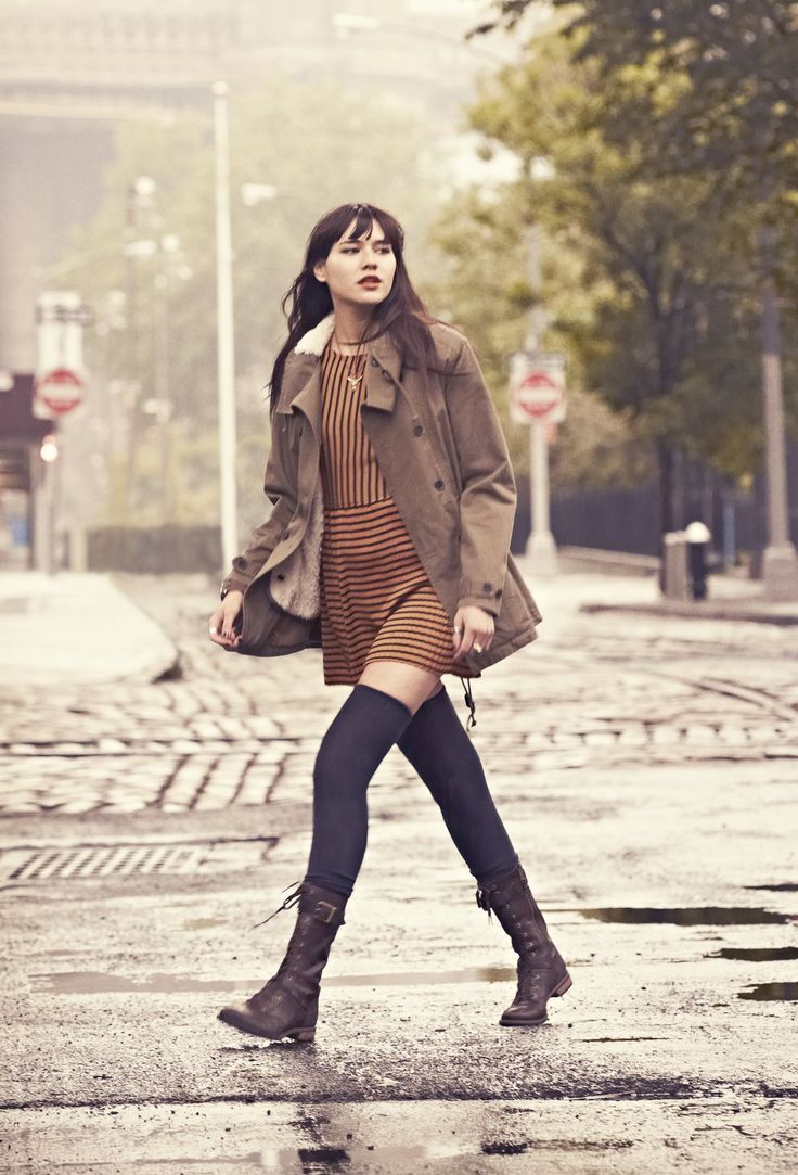 @Natalie Suarez in #Timberland Earthkeepers Savin Hill Mid Boot
