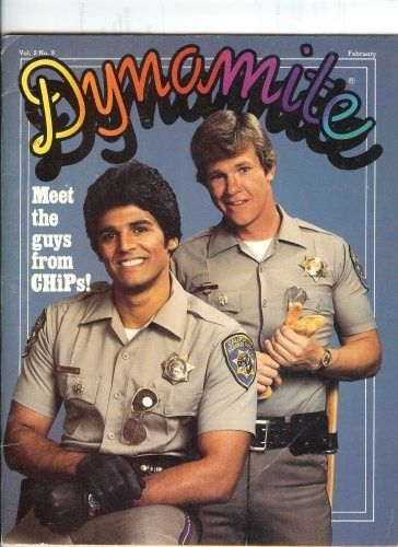 CHiPS ~ Eric Estrada and Larry Wilcox. Description from pinterest.com. I searched for this on bing.com/images