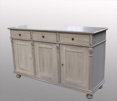 Enfilade peinte meuble peint meubles pinterest for Vieux buffet cuisine