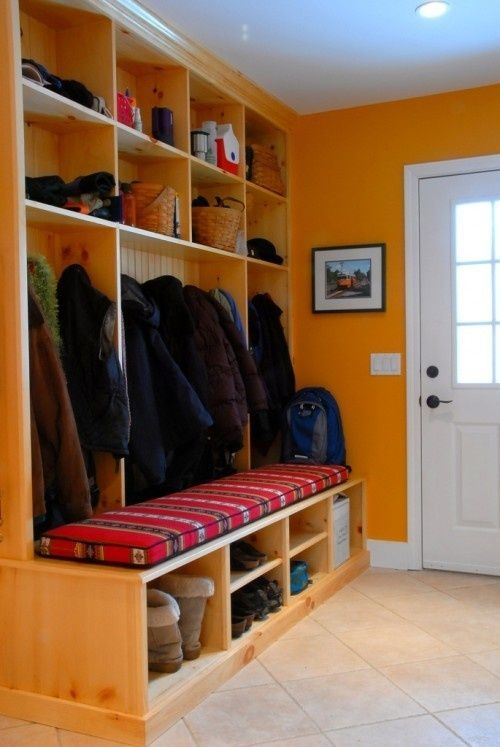 mud room mud-room-ideas - back space deep enough for hanger though!!