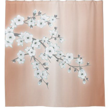 silver and gold shower curtain. Cherry Blossoms Mint Rose Gold Shower Curtain Best 25  shower curtain ideas on Pinterest Neutral kids