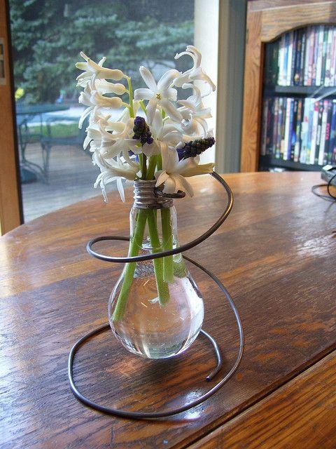 light bulb vase!