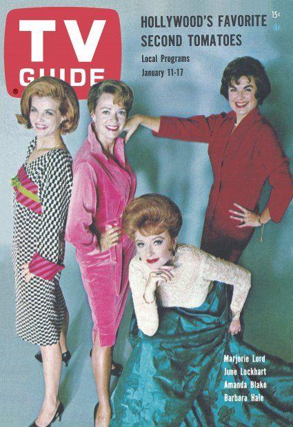 TV Guide January 11-17, 1964 (Marjorie Lord, June Lockhart, Amanda Blake, Barbara Hale)