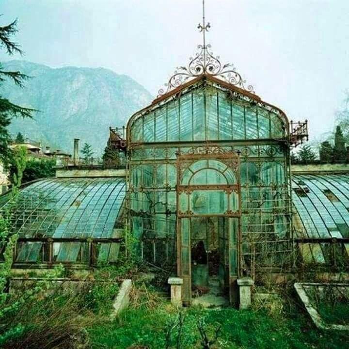 Abandoned Glass House
