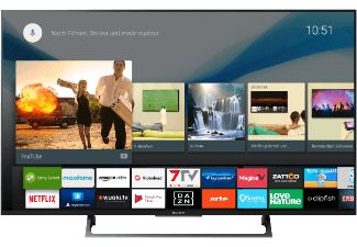 SONY KD49XE8005BAEP LED TV (Flat, 49 Zoll, UHD 4K, SMART TV, Android TV)