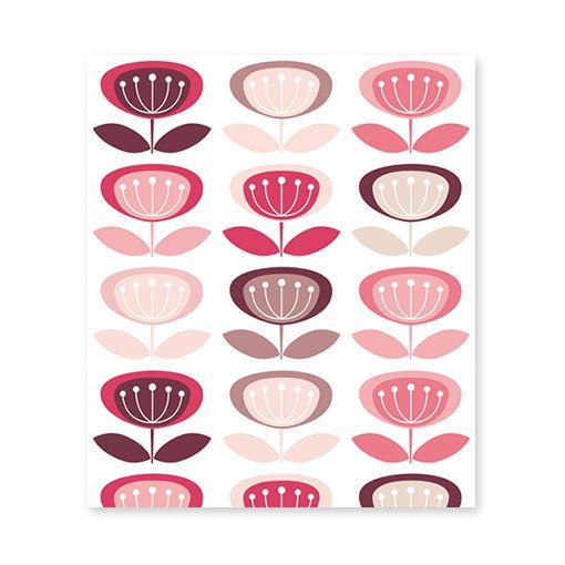 #behang #kinderkamer #babykamer #wallpaper #kidsroom #meisjeskamer #girlsroom #retro #patterns