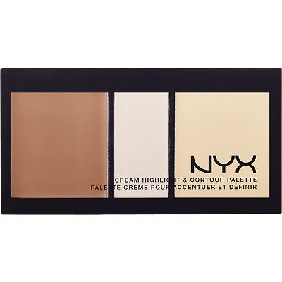 Cream is better than powder for contouring over 40 skin Nyx CosmeticsCream Highlight and Contour Palette