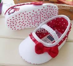 Resultado de imagen para como de sandalias de tela para bebe
