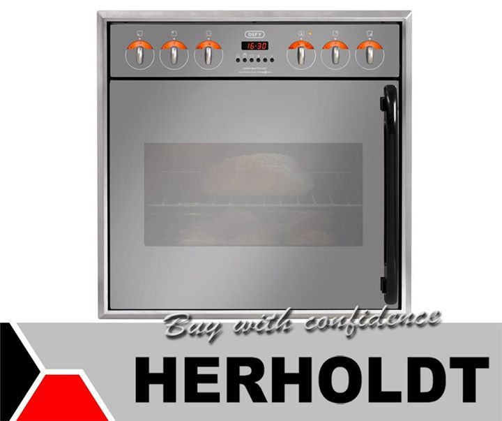 Cooking your Christmas lunch has never been so pleasant. Visit Herholdts and have a look at our range of Built in Defy ovens, like this Defy Gemini Master Chef Multifunction Oven. #appliances #festiveseason #lifestyle