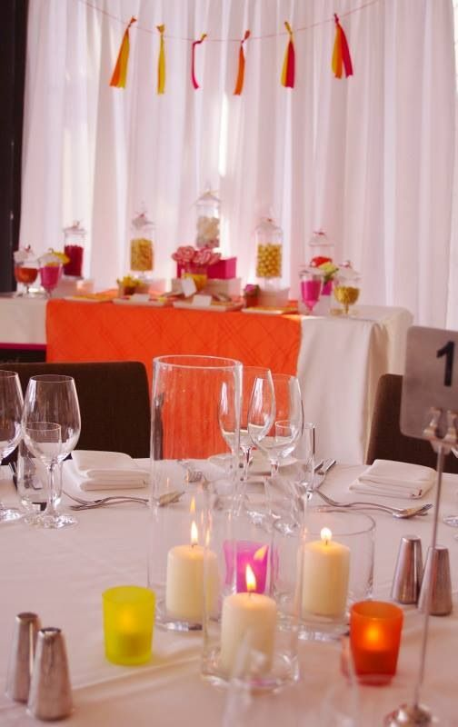 44 best wedding decorations reception images on pinterest colourful table settings junglespirit Gallery