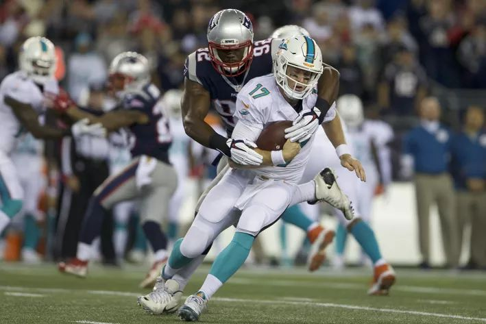Dolphins at Patriots final score and rapid reactions as Dolphins lose 36 - 7 -  By Kdog92  @K_Dog92 on Oct 29, 2015, 11:35p