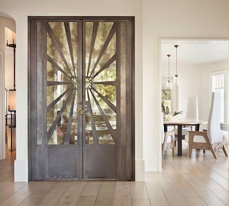 Intresting design of door
