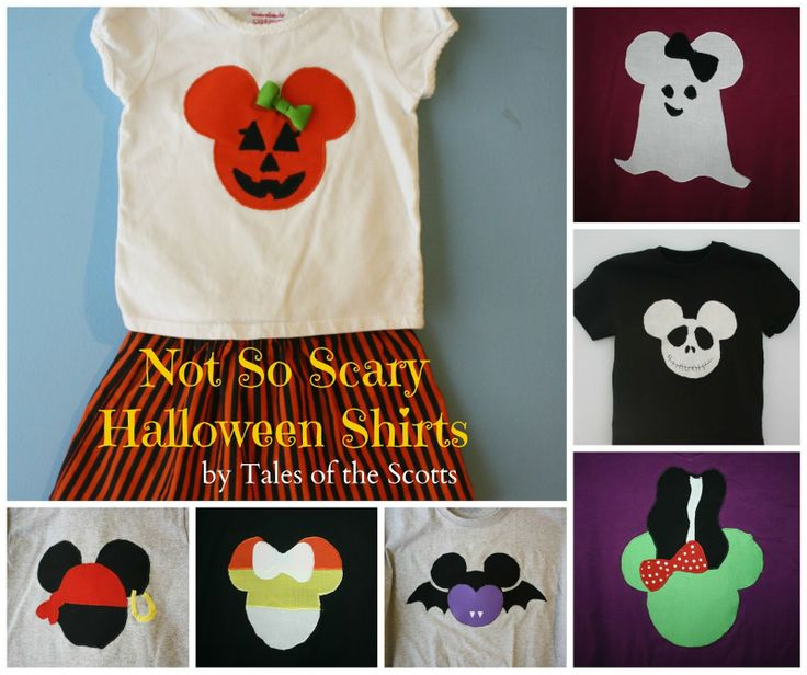 Tales of the Scotts: Not-So-Scary Halloween Shirts #halloween #disneyworld #mickeyshalloweenparty