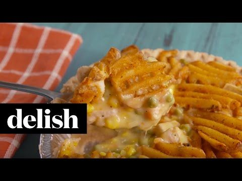 Best Waffle Fry Pot Pie Recipe - Delish.com