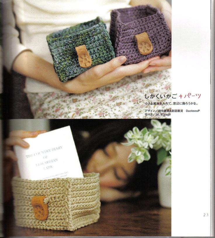 Crochet Box - Chart ❥ 4U // hf