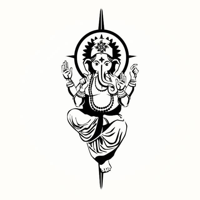 Image result for ganesha tattoo designs