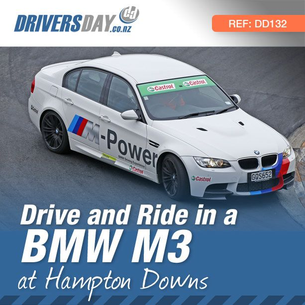 This is incredible value for money. For $200 you get to drive an M3 BMW, one of the best performance sedans ever made; then swap seats with the highly skilled instructor and enjoy two flat-out hot laps as a passenger at full race speeds of over 240kph.