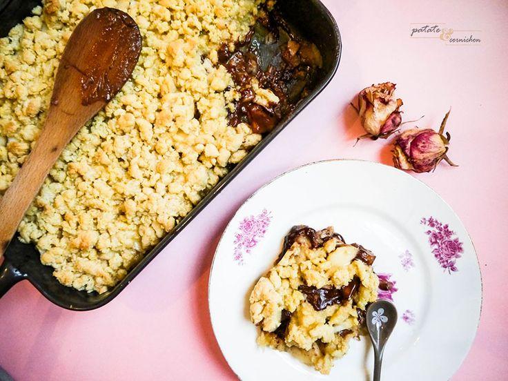 crumble-poire-chocolat-vegan-2