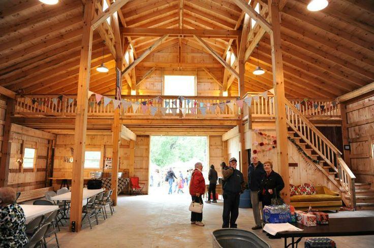 { Emma Creek Barn } The Inside Of The Barn! We'll