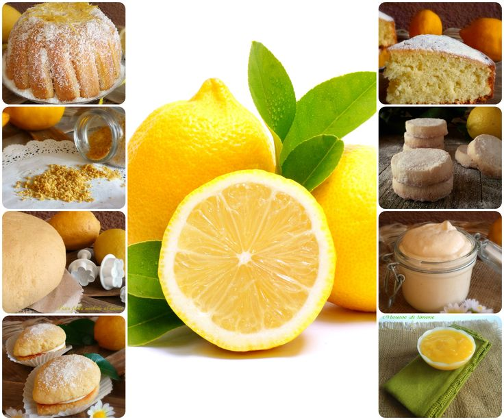 Una raccolta di tanti dolci al limone....tante idee per assaporare questo gustoso e profumato agrume!!!! Correte e leggerle tutte!