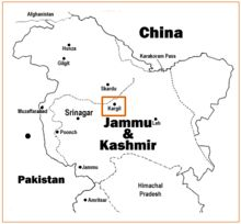 """The Kargil War (Hindi: करगिल युद्ध kargil yuddh, Urdu: کرگل جنگ  kargil jang), also known as the Kargil conflict,[note (I)] was an armed conflict between India and Pakistan that took place between May and July 1999 in the Kargil district of Kashmir and elsewhere along the Line of Control (LOC). In India, the conflict is also referred to as Operation Vijay (Hindi: ऑपरेशन विजय, lit. """"Operation Victory"""") which was the name of the Indian operation to clear the Kargil sector."""