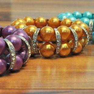 Chunky Rhinestone Bracelets