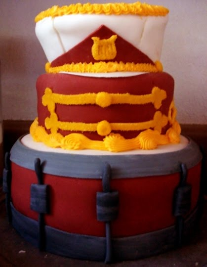 FoodLoveHappiness Marching Band Cake